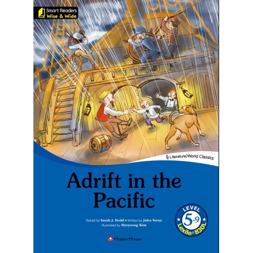 [darakwon] Smart Readers Wise & Wide 5-9 Adrift in the Pacific