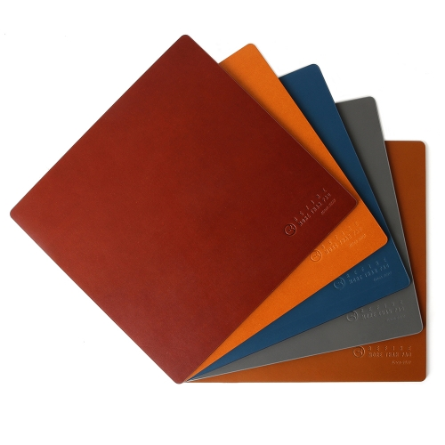 [BEFINE] Leather Mouse Pad 2 (Light Brown)