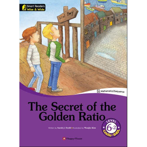 [darakwon] Smart Readers Wise & Wide 6-2 The Secret of the Golden Ratio