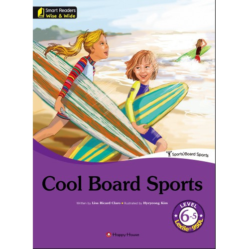 [darakwon] Smart Readers Wise & Wide 6-5 Cool Board Sports