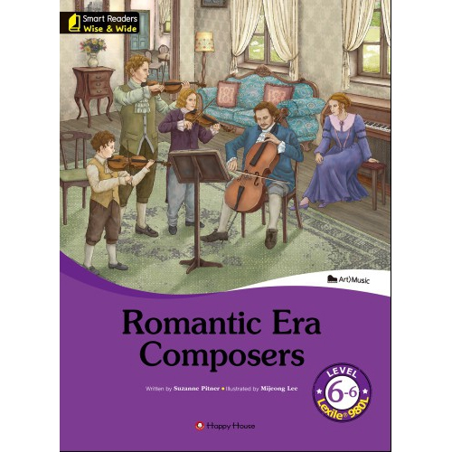 [darakwon] Smart Readers Wise & Wide 6-6 Romantic Era Composers