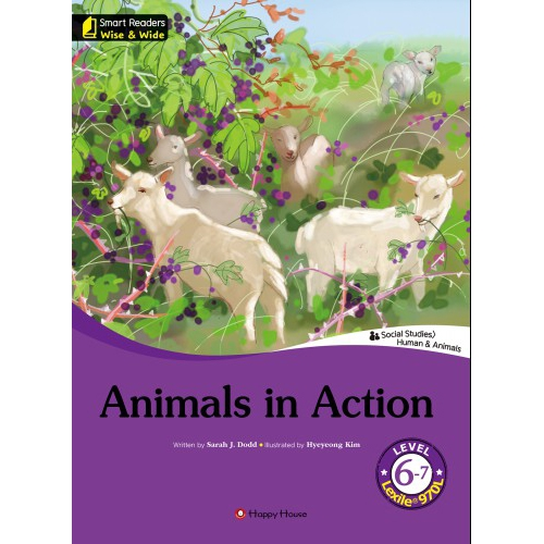 [darakwon] Smart Readers Wise & Wide 6-7 Animals in Action