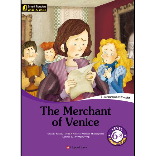 [darakwon] Smart Readers Wise & Wide 6-8 The Merchant of Venice