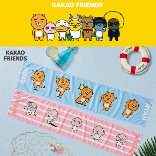 [Kakao Friends] ice cool TOWEL(36g / 1ea)
