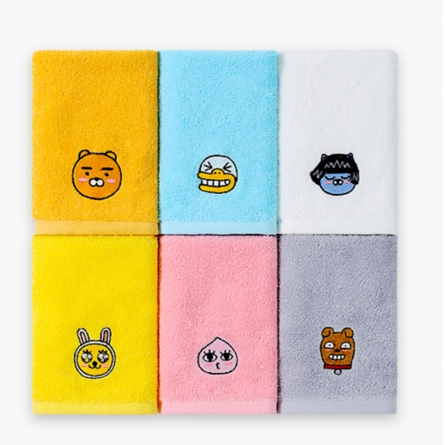 [Kakao Friends] Kakao Friends Hand(Ring) Towel (50g / 1ea)
