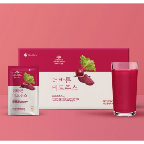 [NUTRIBORN] NFC Red Beet Juice (100ML*30pouch/box)