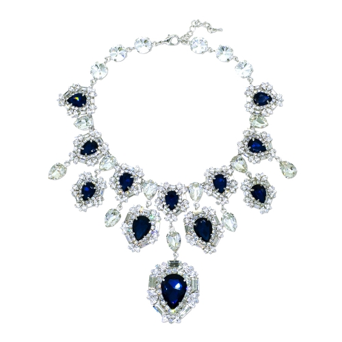[MINWHEE ART JEWELRY] The Dignity of The Queen, Sapphire necklace