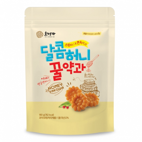 [Hojeongga] Hojeongga Honey Yakgwa (Deep-fried Honey Cookie) (180g)