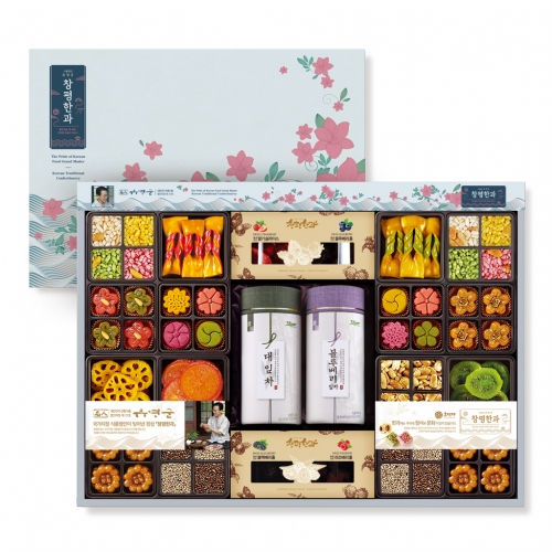[Changpyeong Hangwa] Korean Traditional Confectionery Set No.10 (1,134g)