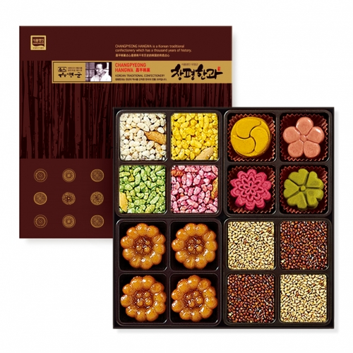 [Changpyeong Hangwa] Changpyeong Hangwa (Korean Traditional Confectionery) Mini Set No.1 (116g)