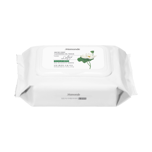 [Mamonde] Micro Deep Cleansing Oil Tissue (50sheets)