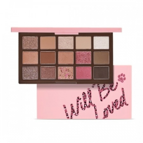 [ETUDE HOUSE] Play Color Eye Palette Will Be Loved Leo Pink (15g)