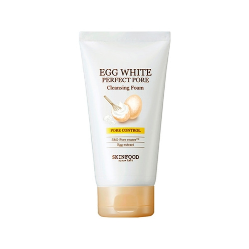 [SKINFOOD] Egg White Perfect Pore Cleansing Foam (150ml)