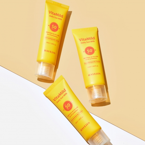 [HAYEJIN] VitaMild Daily Sun Milk SPF50+ PA++++ (50ml)