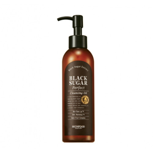 [SKINFOOD] Black Sugar Perfect Cleansing Oil (200ml)
