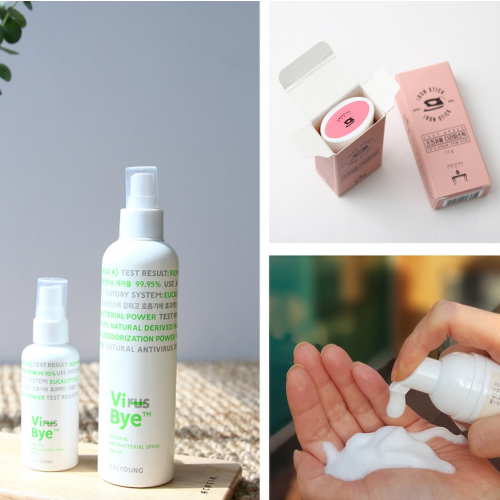 [Dressing Table] Stay-at-Home Special Package (Iron Stick, Antibacterial Spray, Mini Foam Soap)