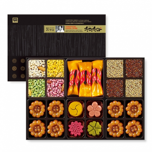[Changpyeong Hangwa] Changpyeong Hangwa (Korean Traditional Confectionery) Mini Set No.2 (160g)
