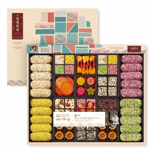 [Changpyeong Hangwa] Korean Traditional Confectionery Set No.3 (360g)