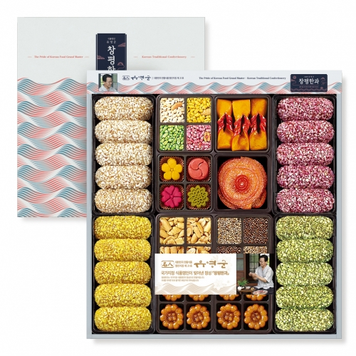 [Changpyeong Hangwa] Korean Traditional Confectionery Set No.4 (480g)