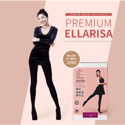[Ellarisa] My slimfit tights 200D (61~69inch)