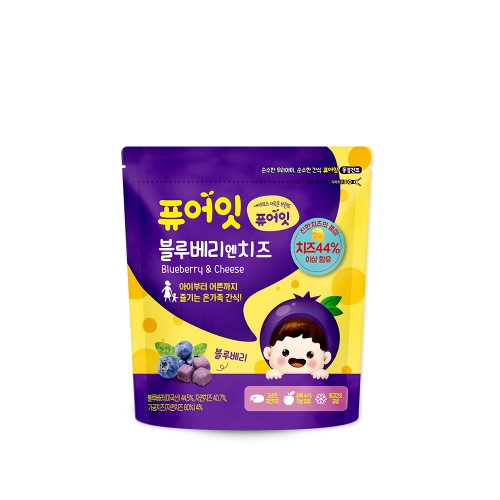 [NAEBRO] PURE-EAT Blueberry &Cheese Snack(6P) (16g*6)