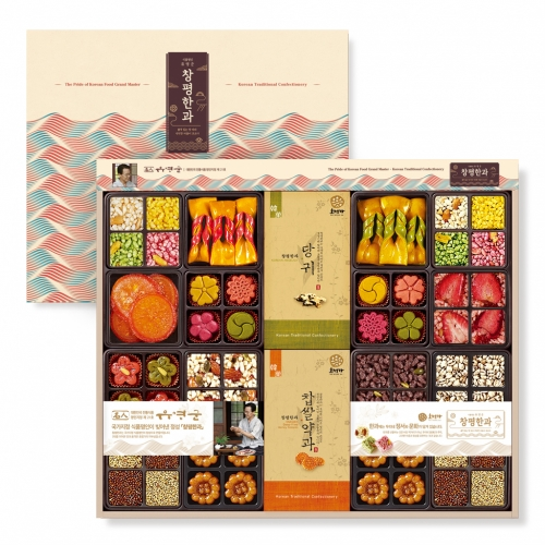 [Changpyeong Hangwa] Korean Traditional Confectionery Set No.6 (752g)