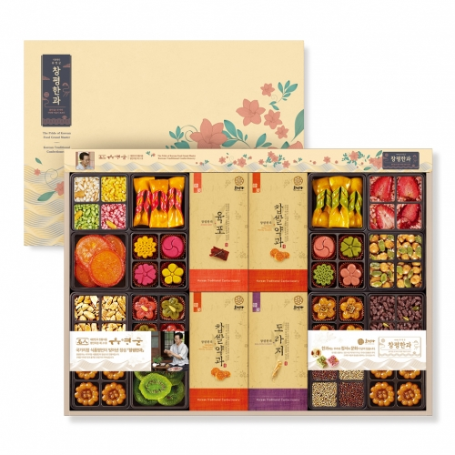 [Changpyeong Hangwa] Korean Traditional Confectionery Set No.7 (978g)