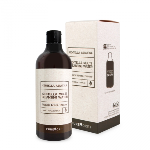 [Pureforet] Centella Acne care Multi Cleansing Water (500ml)
