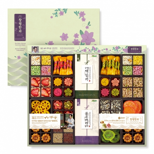 [Changpyeong Hangwa] Korean Traditional Confectionery Set No.8 (889.5g)