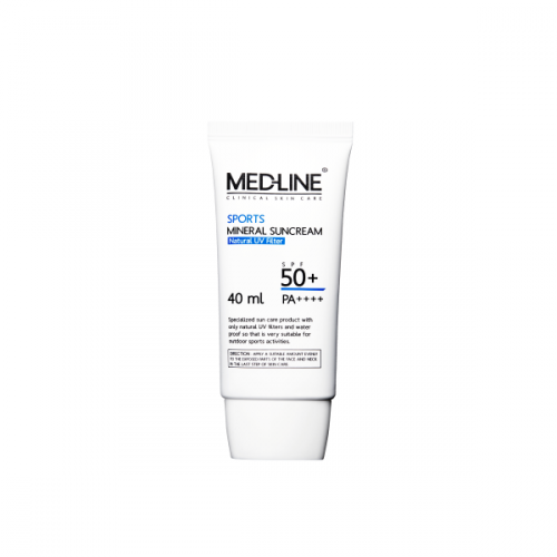 [MED-LINE] Sports Mineral Suncream (40ml)