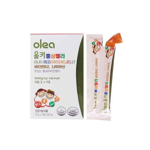 [FUDI] OLKI KIDS RED GINSENG JELLY (15G X 15 STICKS)