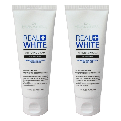 (1+1) [Dr.hunacell] Real Whitening Cream_80ml*2
