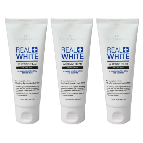 [Dr.hunacell] Real Whitening Cream_80ml*3