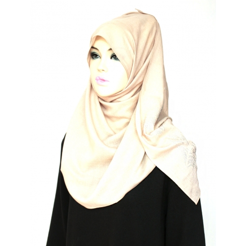 [The twelve] TH196 Stylishly Designed Hijab Scarf Cotton 100%*MADE IN KOREA*