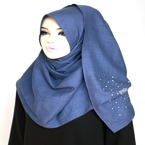 [The twelve] TH195 Stylishly Designed Hijab Scarves cotton100%*MADE IN KOREA*