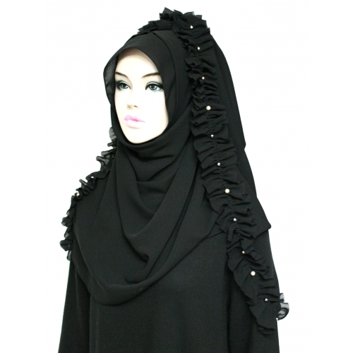 [The twelve] TH207 Stylish Designed Hijab Scarf*Made in Korea*