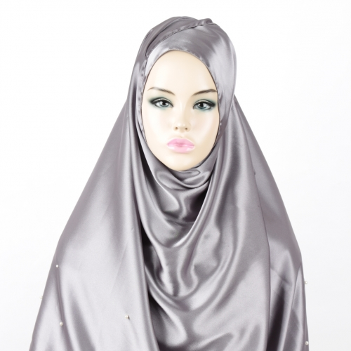 [The twelve] TH101 Stylishly Designed Hijab Scarf satin fabric*MADE IN KOREA*