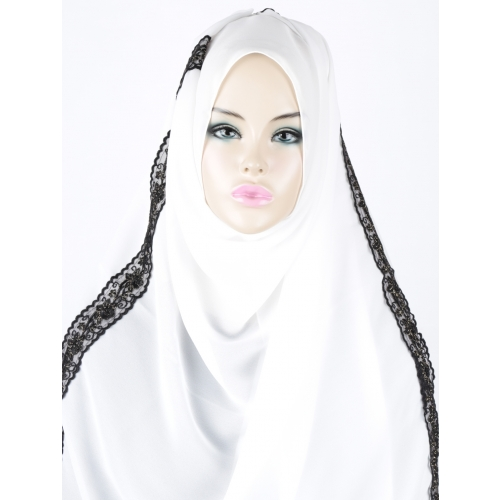 [The twelve] TH120 Stylishly Designed Hijab Scarf*MADE IN KOREA*