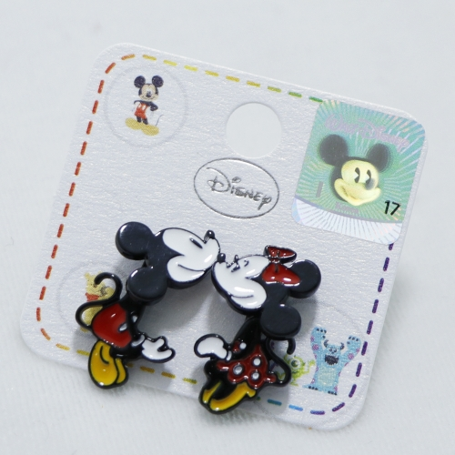 [Claire Jewellery] Disney characters Mickey Mouse&Minnie Mouse Earrings(Swing dance)