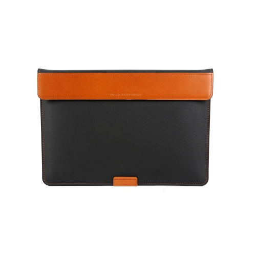 """[BEFINE] Stand Pouch 2 for  MacBook Air 13"""" & Pro Retina Display 13"""" & Surface Laptop (Black)"""