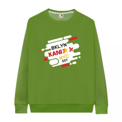[KaniSeven Junior] brent boys / Girls Winter Brushed man-to-man T-Shirts