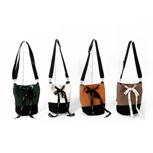 [YDDY] Canvas bag Series 'Canvashoes - Bucket Bag (4 colors)'