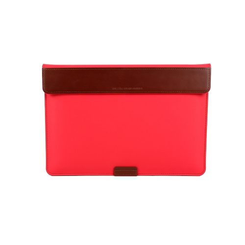 """[BEFINE] Stand Pouch 2 for MacBook Air 13"""" & Pro Retina Display 13"""" & Surface Laptop (Candy Red)"""