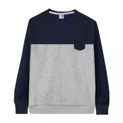 [KaniSeven Junior] cler boys / Girls Winter Brushed man-to-man T-Shirts