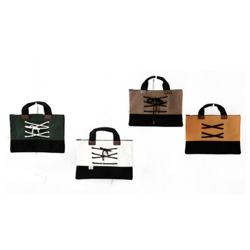 [YDDY] Canvas bag Series 'Canvashoes -  Clutch (4 colors)'