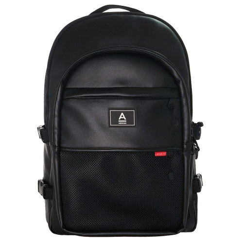 [ABROAD] Crazy Backpack - 17 inch, 16 pocket, Multi Bag (Black / White / Baby Pink)