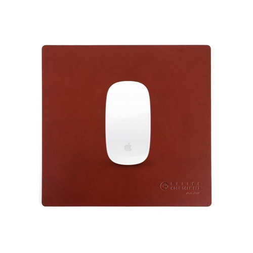 [BEFINE] Leather Mouse Pad 2 (Deep Brown)