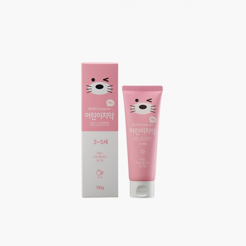 [Mybee] Toothpaste for Kids (100g, Strawberry)