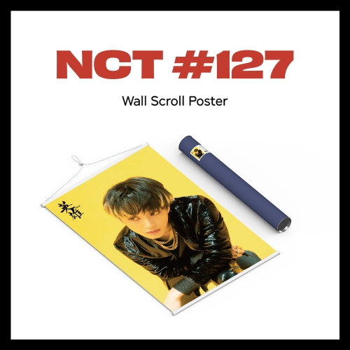 pre-order [NCT 127] - Wall Scroll Poster (Mark ver)