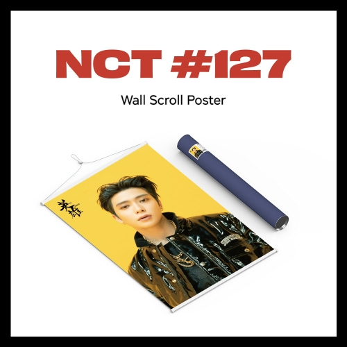 pre-order [NCT 127] - Wall Scroll Poster (Jaehyun ver)